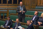Richard Holden speaks in the budget debate