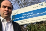 Richard Holden at Shotley Bridge Hospital